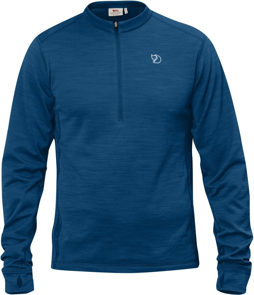 FjallRaven Abisko Half Zip Lake Blue-30