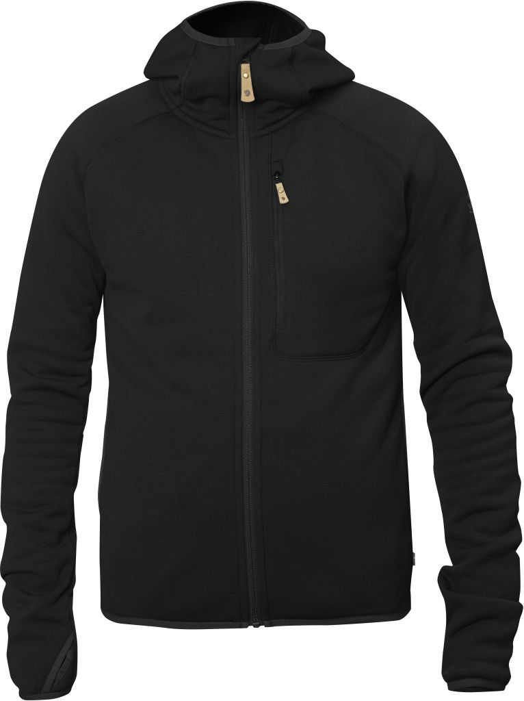 FjallRaven Abisko Fleece Hood Black-30