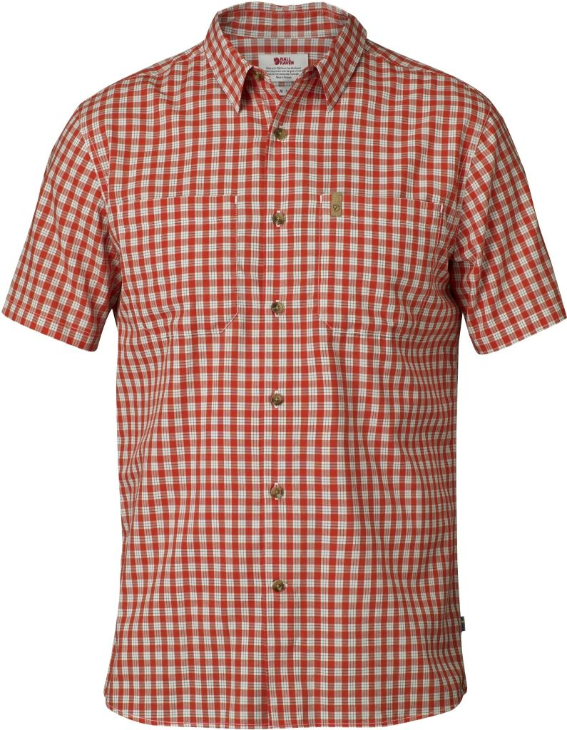 FjallRaven High Coast Shirt SS Flame Orange-30