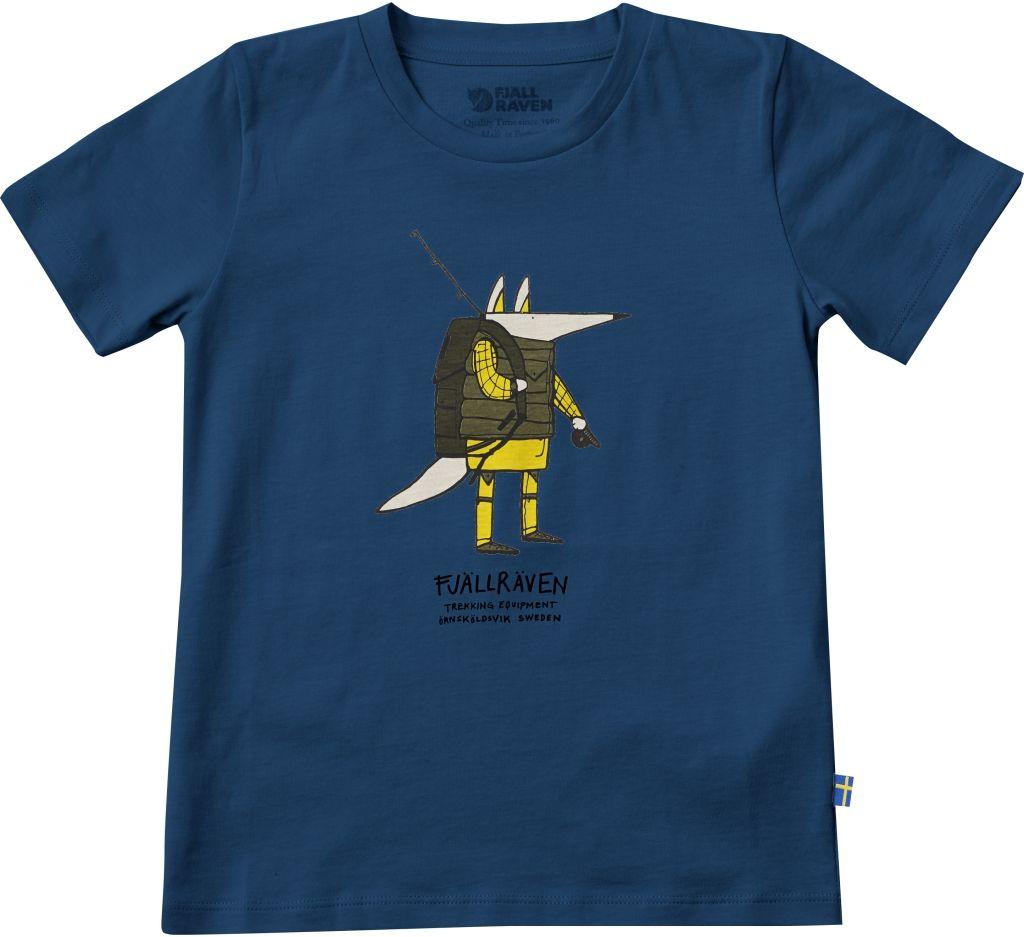 FjallRaven Kids Trekking Fox T-shirt Lake Blue-30
