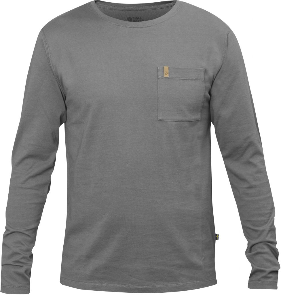 FjallRaven Övik Pocket T-shirt LS Grey-30