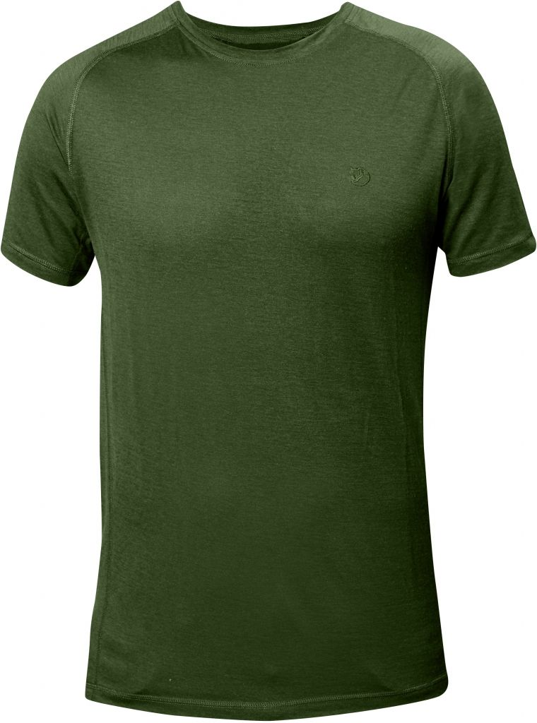 FjallRaven Abisko Trail T-shirt Pine Green-30