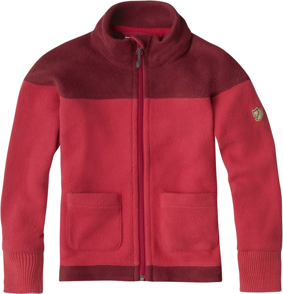 FjallRaven Abisko Fleece Kids Red-30