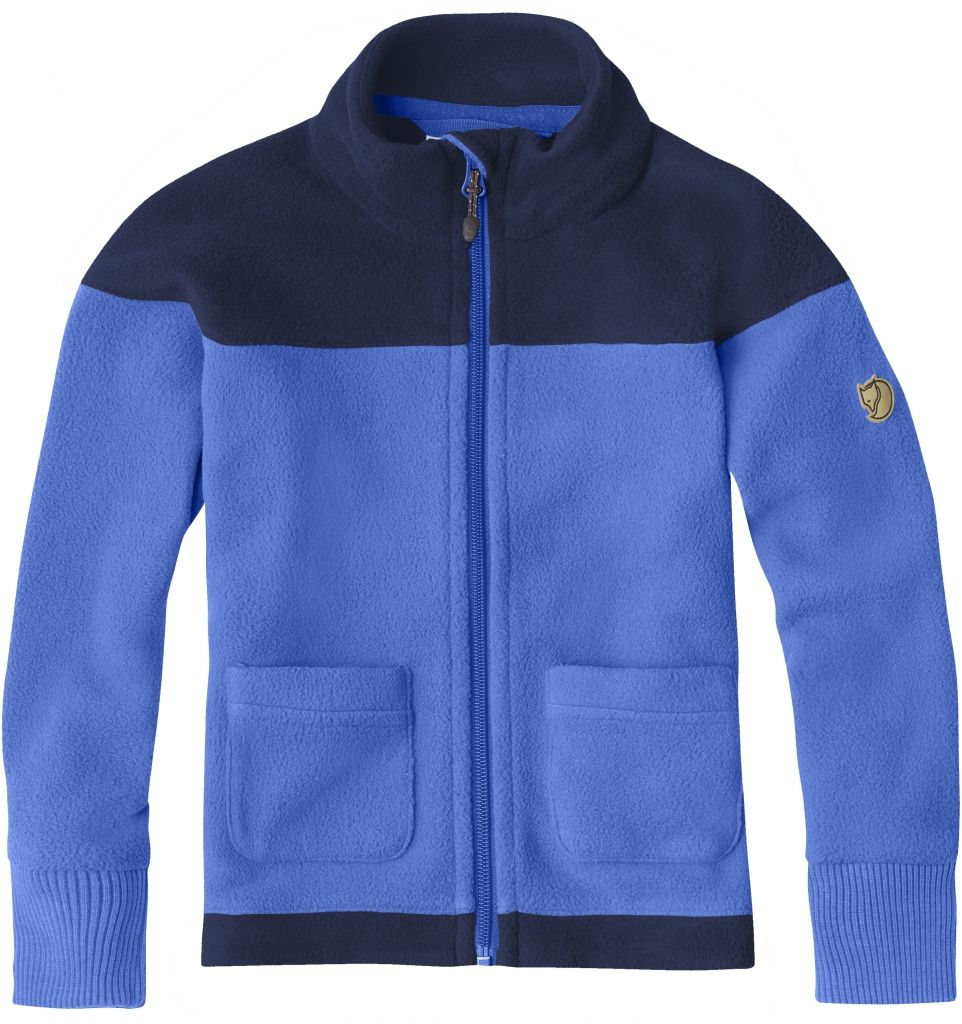 FjallRaven Abisko Fleece Kids UN Blue-30