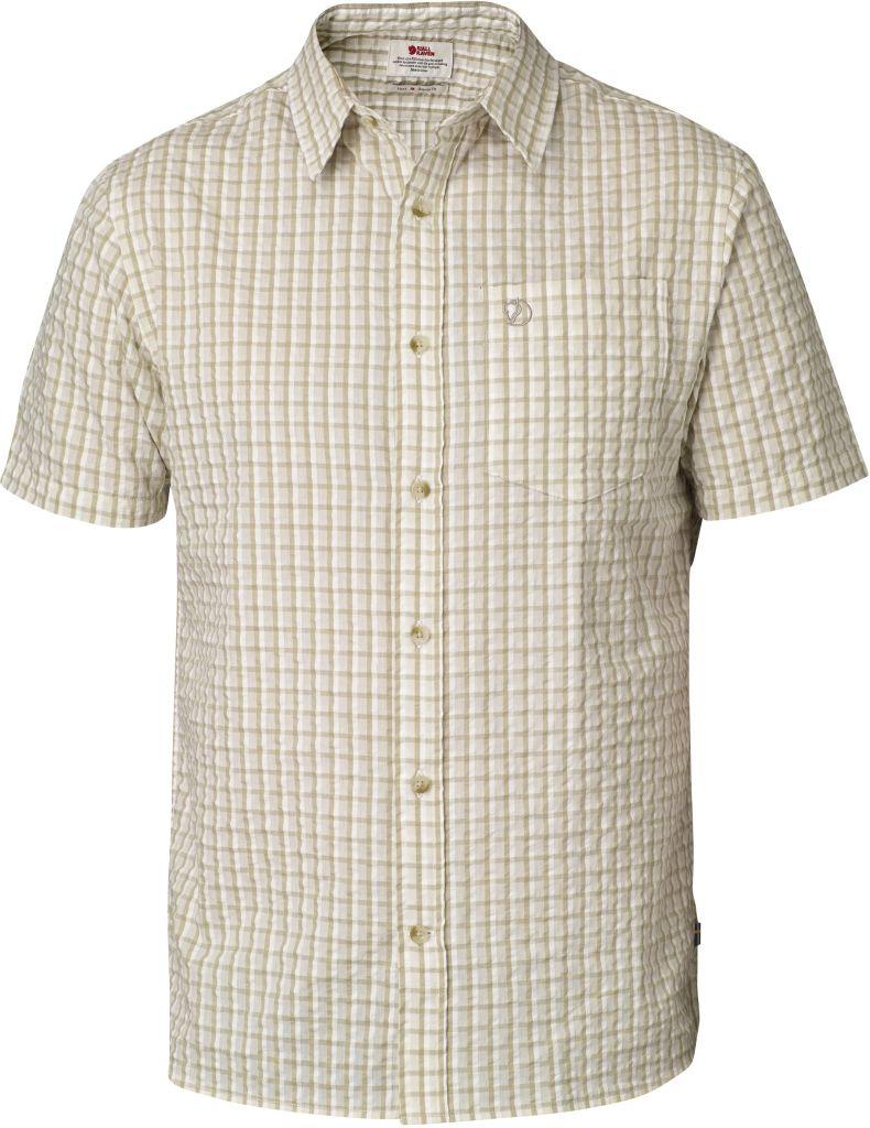 FjallRaven Abisko Seersucker Shirt SS Cork-30