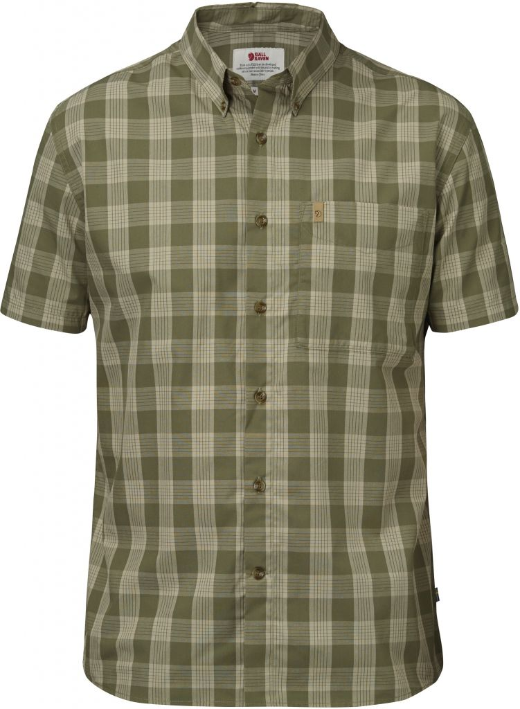 FjallRaven Övik Button Down Shirt SS Green-30