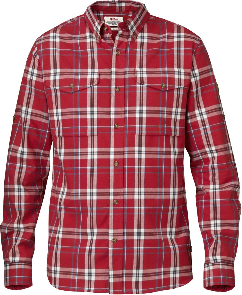 FjallRaven Sarek Shirt LS Red-30