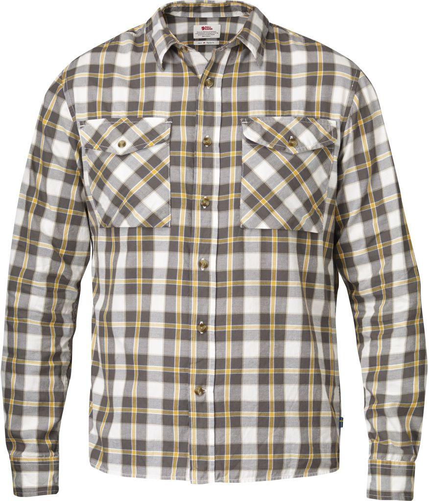 FjallRaven Sarek Flannel Shirt LS Ochre-30