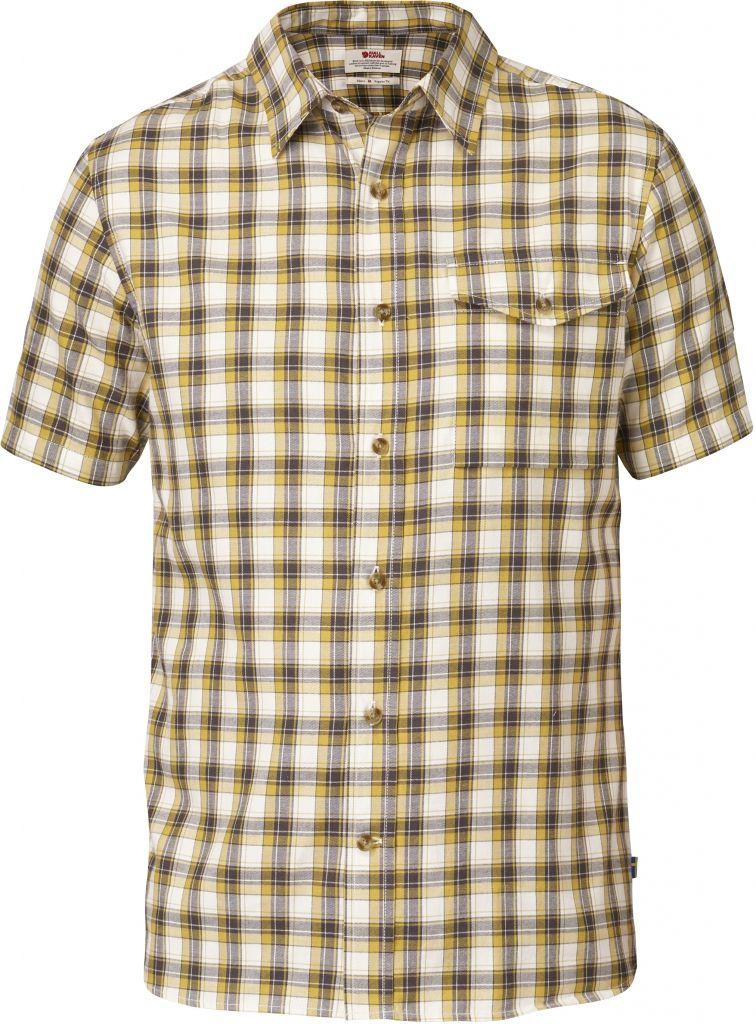 FjallRaven Sarek Shirt SS Ochre-30