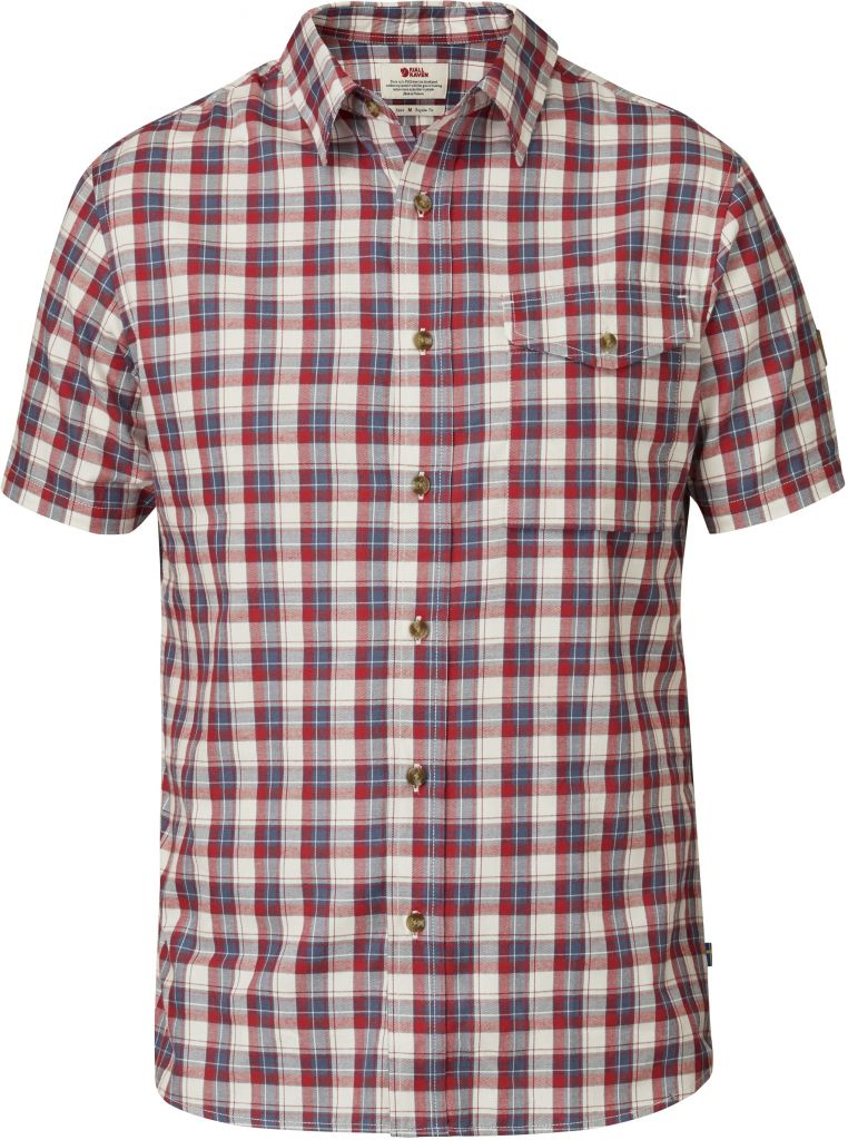FjallRaven Sarek Shirt SS Red-30