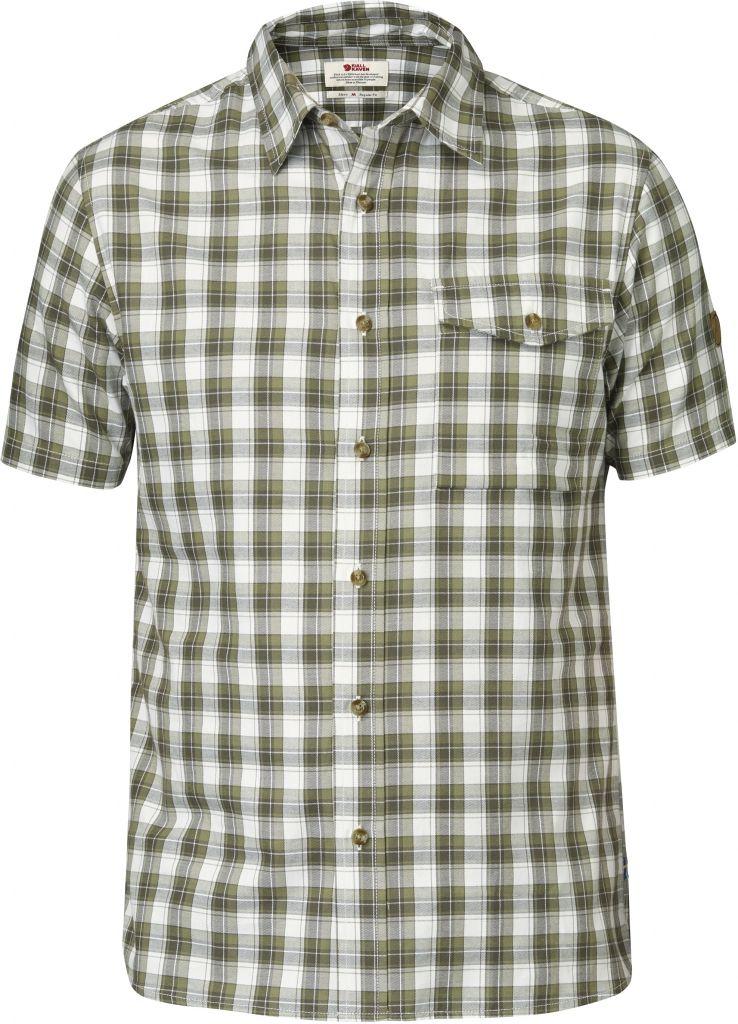 FjallRaven Sarek Shirt SS Olive-30