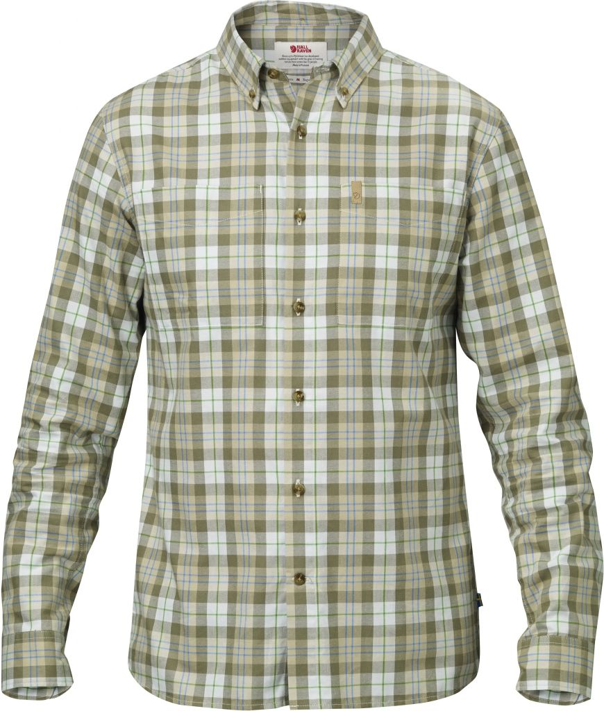 FjallRaven Övik Shirt LS Green-30