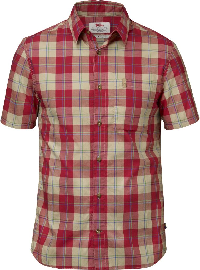 FjallRaven Kiruna Shirt SS Red-30