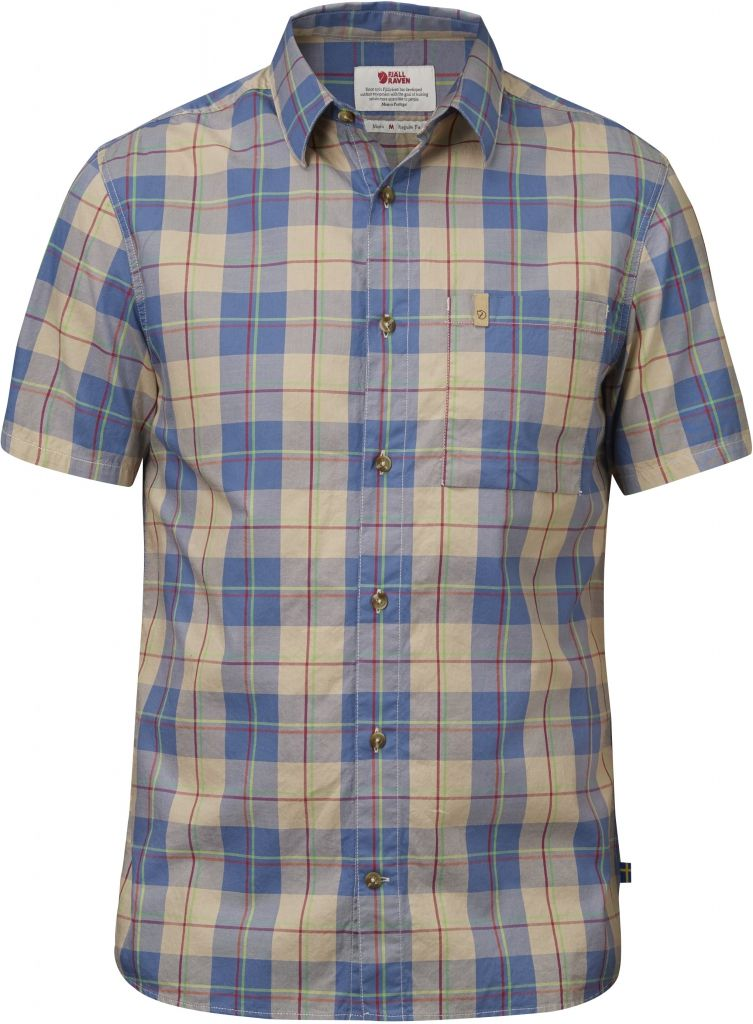 FjallRaven Kiruna Shirt SS Uncle Blue-30