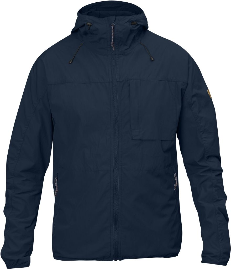 FjallRaven High Coast Wind Jacket Navy-30