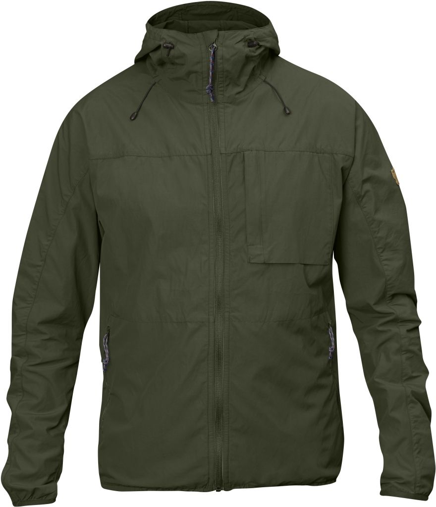 FjallRaven High Coast Wind Jacket Olive-30
