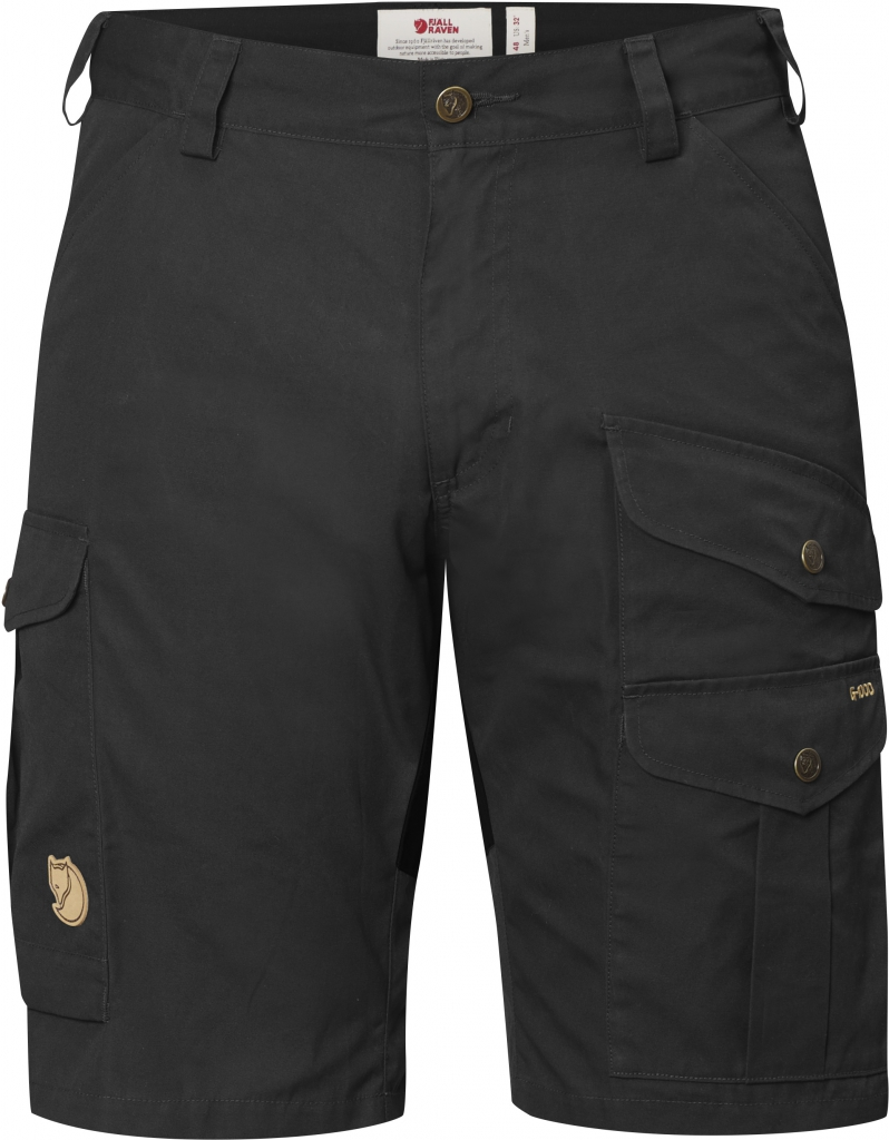 FjallRaven Barents Pro Shorts Dark Grey/ Black-30