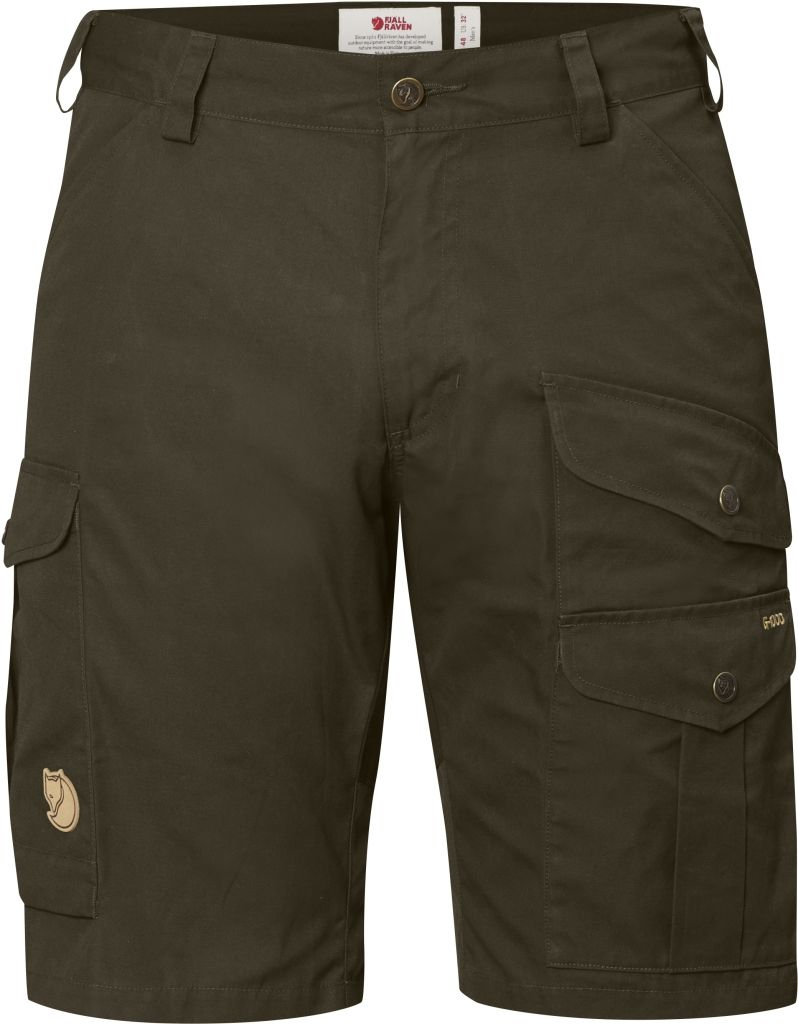 FjallRaven Barents Pro Shorts Dark Olive-30
