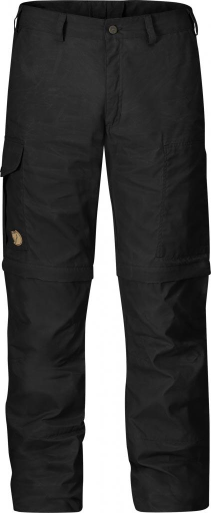 FjallRaven - Karl Zip-Off Trousers Dark Grey - Zip-Off Pants - 54