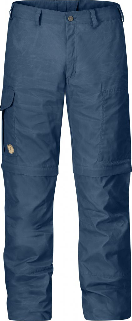 FjallRaven Karl Zip-Off Trousers Uncle Blue-30