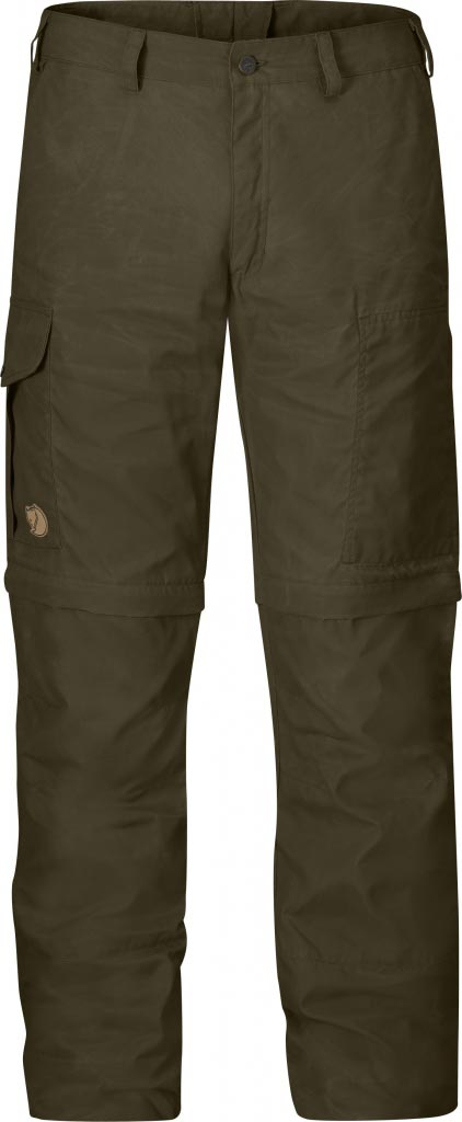 FjallRaven Karl Zip-Off Trousers Dark Olive-30