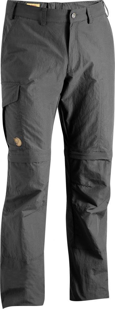 FjallRaven - Karl Zip-Off MT Trousers Dark Grey - Zip-Off Pants - 54