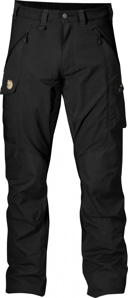 FjallRaven Abisko Trousers Black-30
