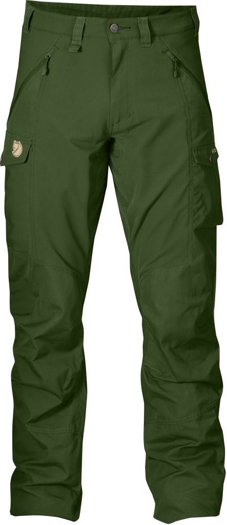FjallRaven Abisko Trousers Pine Green-30