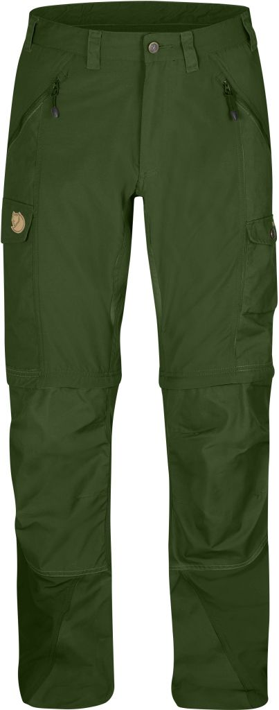 FjallRaven Abisko Zip-Off Trousers Pine Green-30