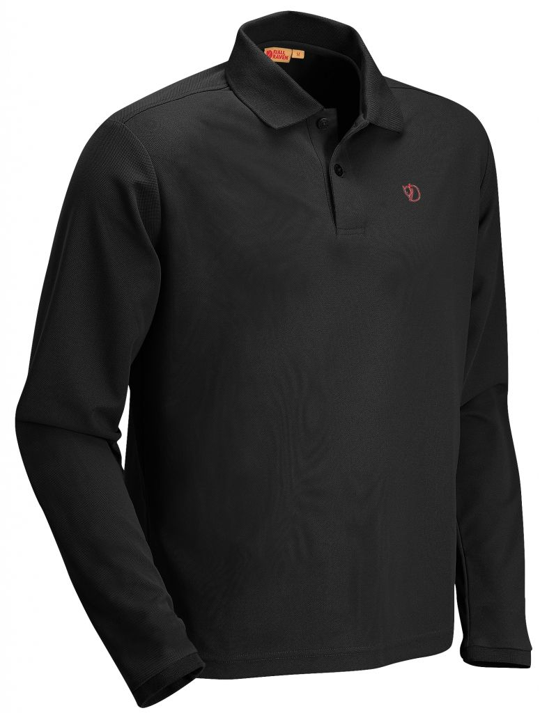 FjallRaven Crowley Long Sleeve Pique Blueblack-30