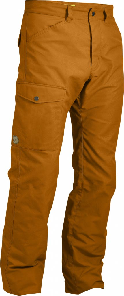 FjallRaven Trousers No. 26 Burnt Orange-30