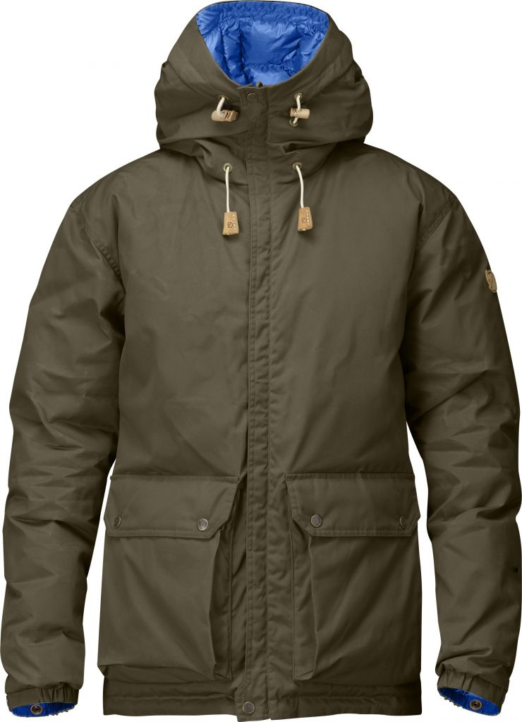 FjallRaven Down Jacket No.16 Dark Olive-30