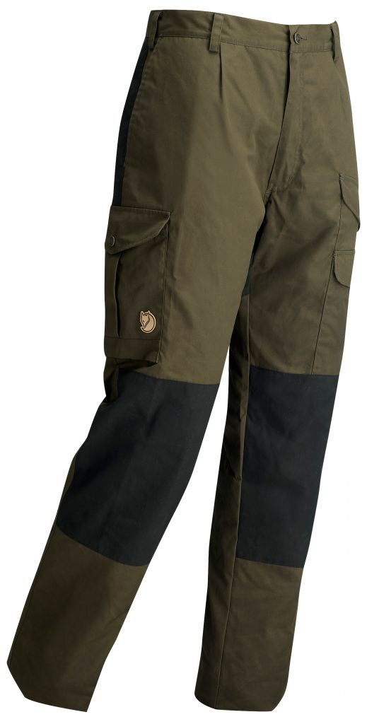 FjallRaven Barents Padded Trousers Dark Olive-30