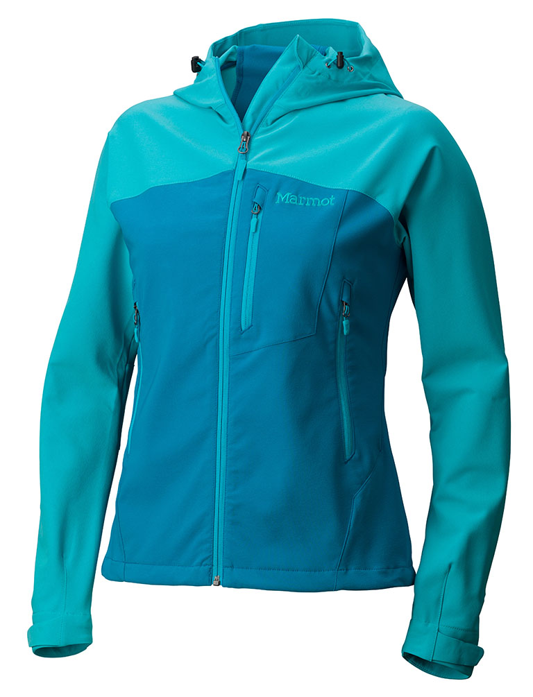 Marmot Wm's Estes Hoody Dark Atomic/Sea Breeze-30