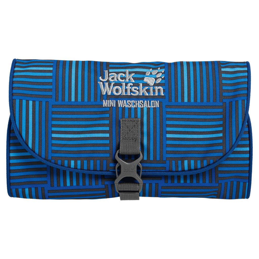 Jack Wolfskin Mini Waschsalon blue woven checks-30