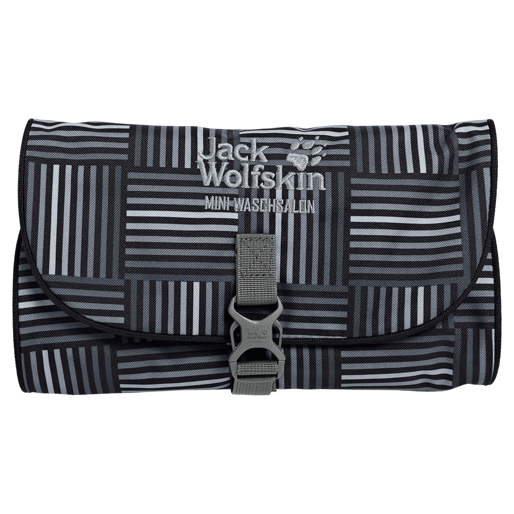 Jack Wolfskin Mini Waschsalon black woven checks-30