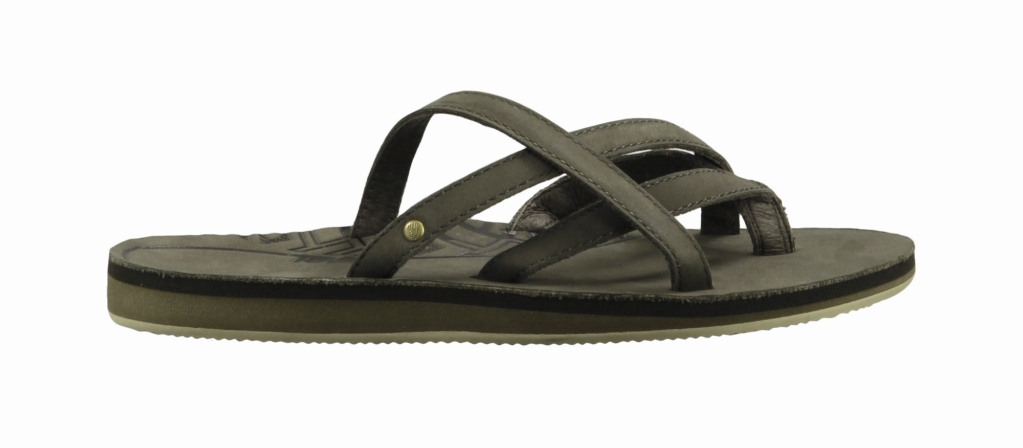 Teva Olowahu Leather W's black olive-30