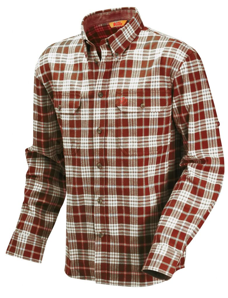 FjallRaven Duck shirt Aurora Red-30