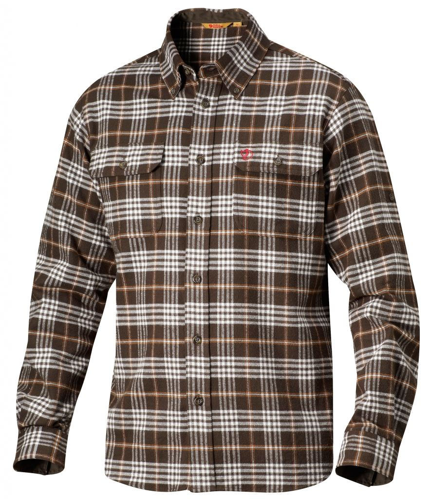 FjallRaven Duck shirt Dark Olive-30
