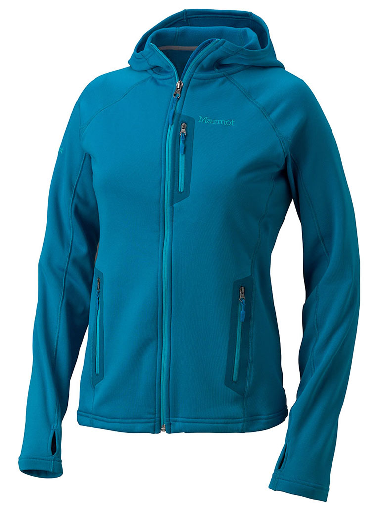 Marmot Wm's Stretch Fleece Hoody Dark Atomic-30