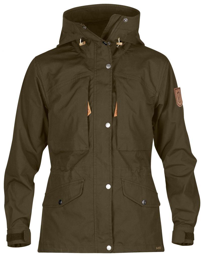 FjallRaven Sarek Trekking Jacket W. Dark Olive-30