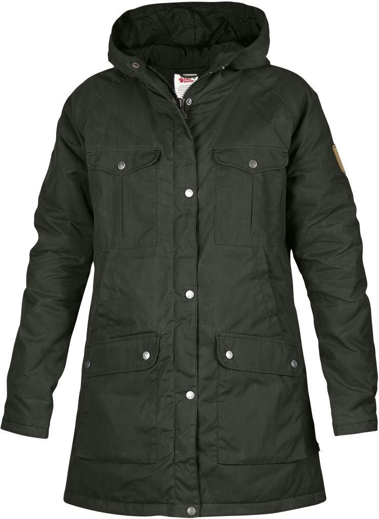 FjallRaven Greenland Parka W. Mountain Grey-30