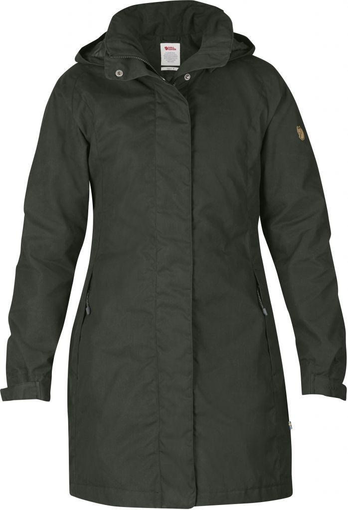 FjallRaven Una Jacket Mountain Grey-30