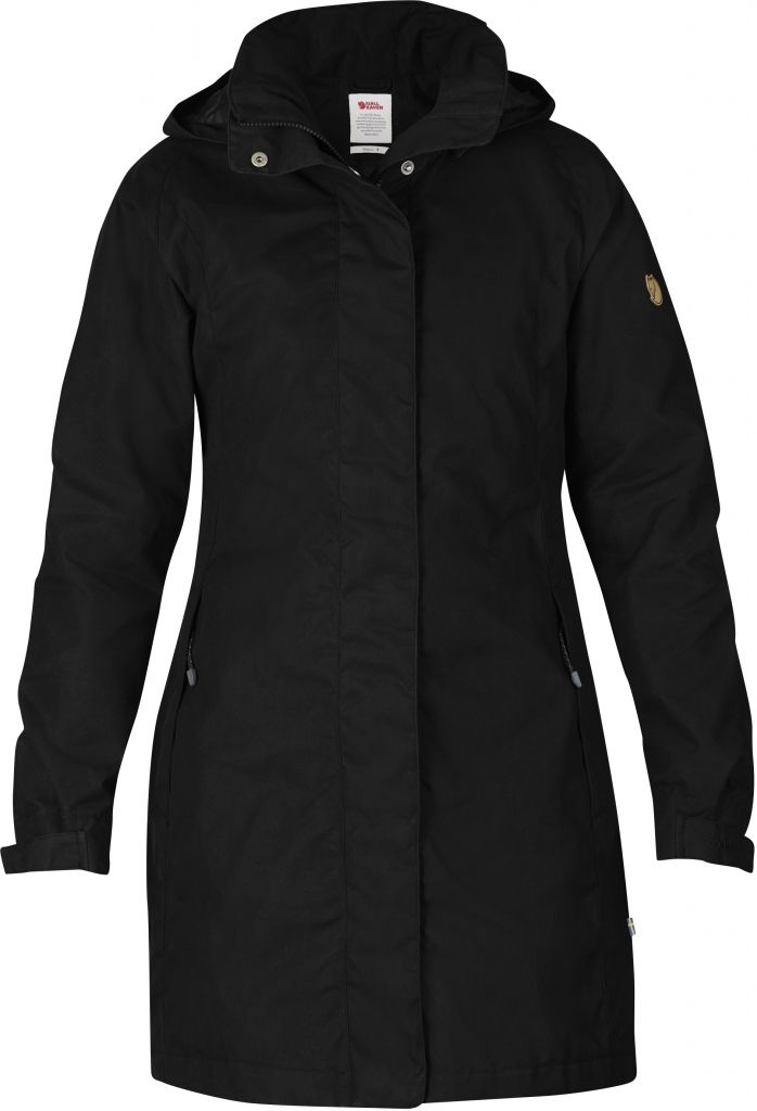 FjallRaven Una Jacket Black-30