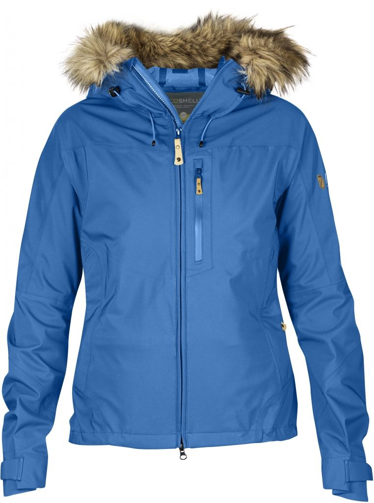 FjallRaven Eco-Tour Jacket W. UN Blue-30