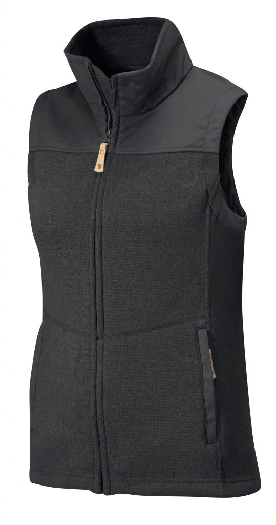 FjallRaven Lule Fleece Vest Graphite-30