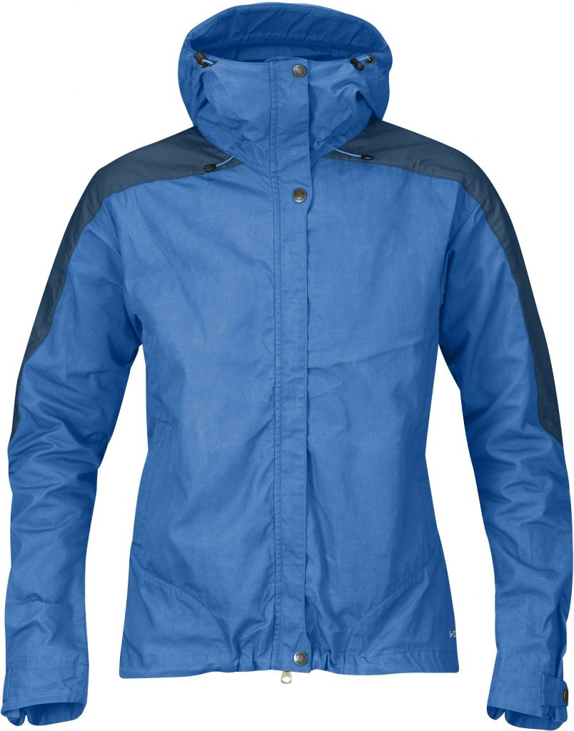 FjallRaven Skogsö Jacket Women UN Blue-Uncle Blue-30