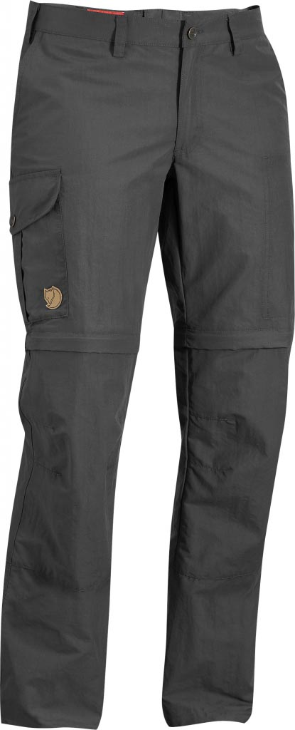 FjallRaven Karla Zip-Off MT Trousers Dark Grey-30