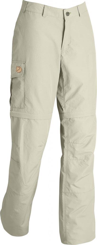 FjallRaven - Karla Zip-Off MT Trousers Light Beige - Zip-Off Pants - 34
