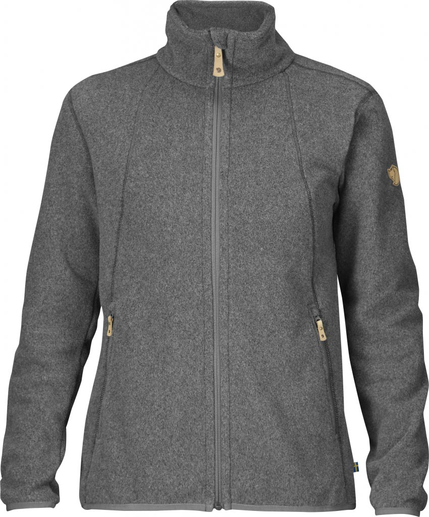 FjallRaven Stina Fleece Dark Grey-30